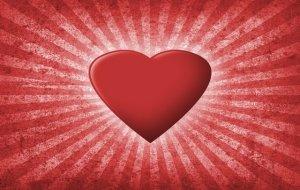 לב שולח קרניים